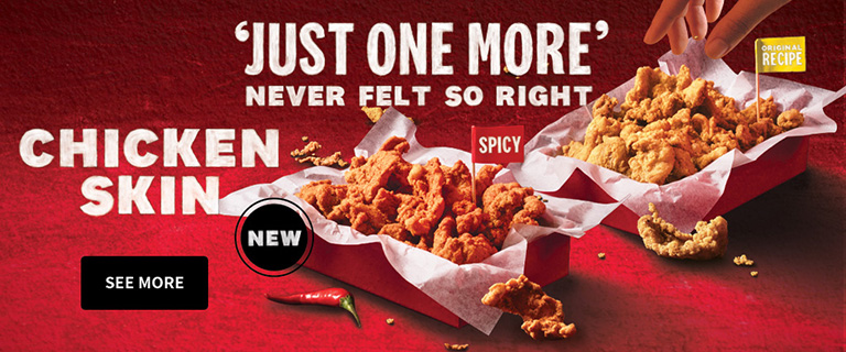 KFC Singapore Is Bringing Back Its Fried Chicken Skin
